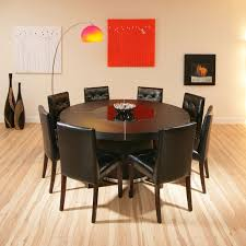 round dining room tables for 8 round dining table for 8 with lazy susan modern home design