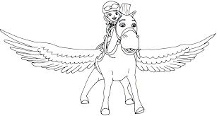 sofia coloring pages minimus flying sofia