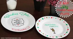 christmas plate easy diy christmas plate cookies for santa and reindeer snacks