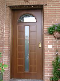 porte ingresso in legno porte blindata in legno pantografato modello 09 finestrato