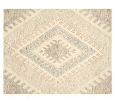 Pottery Barn Area Rugs Taos Tufted Rug Neutral Pottery Barn