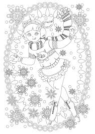 figure skater coloring pages to download and print for free