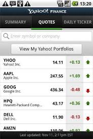 yahoo apps for android 5 of the best stock market apps for android techsource
