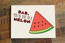 amazon com funny watermelon pun father u0027s day or dad birthday card