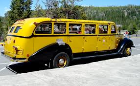 Wyoming travel buses images My grandpa was a tour bus driver in yellowstone national park jpg
