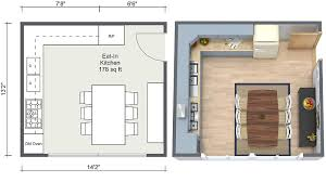 floor plans for kitchens kitchen ideas roomsketcher