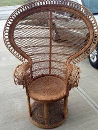 vintage wicker furniture popular for interior and exterior all
