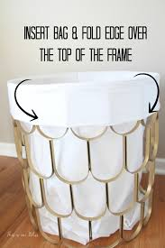 linen laundry hamper great find quick fix 2 diy hamper this is our bliss