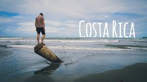 Sand Beach by Exploring Black Sand Beach In Costa Rica Youtube