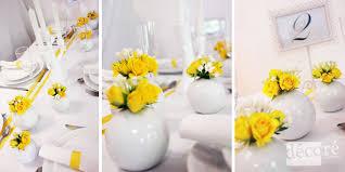 deco table rose et gris décoration mariage blanc et jaune meilleure source d u0027inspiration