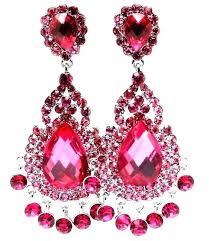 Pink Chandelier Earrings Blush Chandelier Earrings Bridal Pink Chandelier Bridal