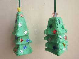 egg carton christmas tree home decorating interior design bath