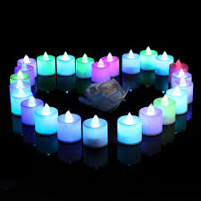 decorative lights battery operated 24 led flameless candles