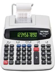 victor calculator 1310 big print commercial printing calculator