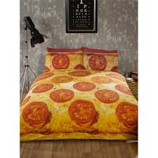 cheese u0026 tomato pizza duvet cover duvet covers u0026 bed linen