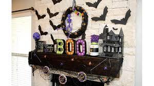 halloween mantel decoration ideas 6 youtube