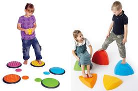 gross motor therapy special needs toys balance with tactile