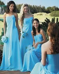 country style long wedding party brides maid gowns vestido de