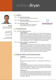 The Best Resume Templates Best Resume For It Professional Format Pdf Templates