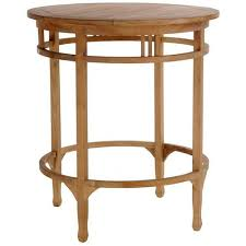 Teak Bar Table Shop Teak Patio Bar And Counter Furniture By Chic Teak Armless