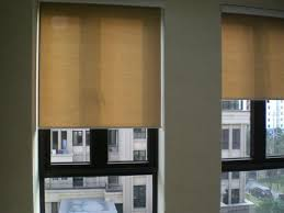 Rica Blinds Translucent Chinese Roller Blinds In Light Coffee Curtains For