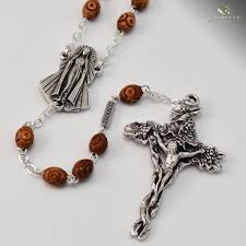 wooden rosaries fatima rosary with wooden rosary ghirelli rosaries