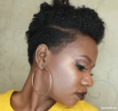 tapered natural hairstyles six hairstyles on a tapered cut natural hair lisa a la mode