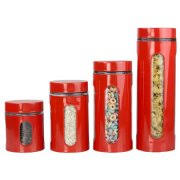 kitchen stainless steel canisters