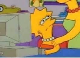 Simpsons Meme Generator - lisa simpson glare meme generator