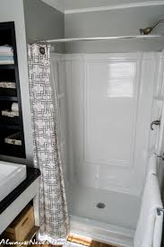 Stand Up Bathroom Shower Generous Shower Curtains For Stand Up Showers Contemporary