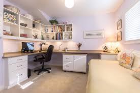 Office Desk U Shaped by Gorgeous Home Office Bookshelves Desk Custom Bookcases Custom