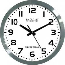 wall watch wt 3161wh 16 inch atomic wall clock