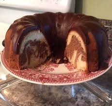 oldfashioned marble pound cake u0026 chocolate glaze recipe just a pinch