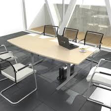 Besprechungstisch Konferenztisch Bootsform Easy 2 000 X 1 000 Mm In Ahorn Für 6 8