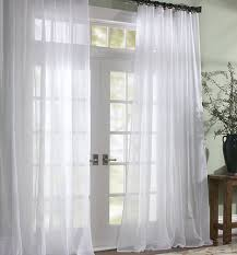 Two Curtains In One Window Curtains U0026 Drapes Pottery Barn