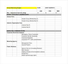 Financial Planning Templates Excel Free Financial Budget Plan Template 7 Free Word Excel Pdf
