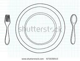 free restaurant logo on paper plate vector download free vector