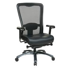 Leather Task Chair Mi 97728 Ec3 Progrid High Back Chair With Leather Seat Office