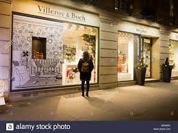 villeroy boch luxury shop with decoration rue royale