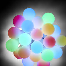 wilko 100 outdoor mini ball christmas lights colour changing at