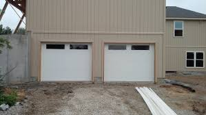 Kansas City Overhead Door by Clopay Premium Series Classic Collection Flush Style Long Panel