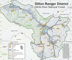 Breckenridge Map Friends Of The Dillon Ranger District Trail U0026 Hiking