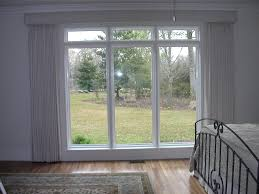 curtains under transom