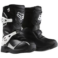 leather dirt bike boots fox mx gear 2015 comp 5k black peewee motocross dirt bike kids