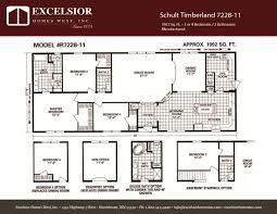 schult floor plans schult timberland 7228 11 excelsior homes west inc