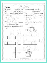 free puzzle fun with the frog prince they provide practice in