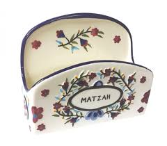 matzah holder shop floral matzah holder painted porcelain los angeles