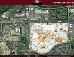 Oak Park Mall Map Aerial Map Corbin Park Retail Village In Overland Park Ks