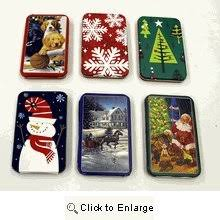 gift card tin gift card tin holder set of six home kitchen