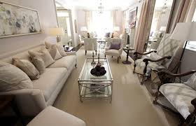How To Decorate Media Room - a beautiful maison help how to decorate a long narrow living